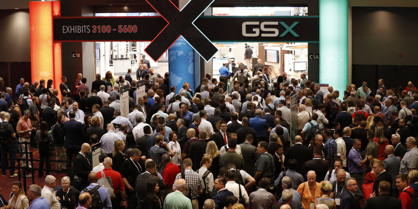 ASIS GSX entrance to exhibits