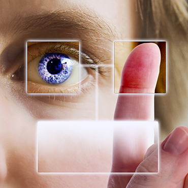 Iris and finger biometrics